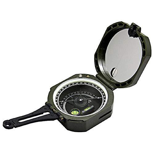 Nuoyi Multifunktionaler Kompass | Geologischer Kompass Schlagfester und wasserdichter | Metallsicht-Navigationskompass zum Wandern