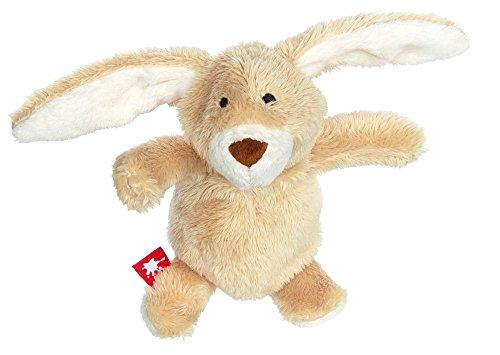 sigikid, Mädchen und Jungen, Stofftier, Mini Hase, Sweety, Beige, 38576