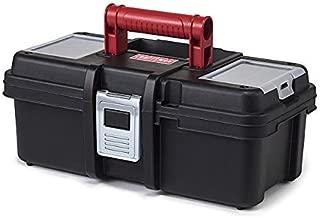 Craftsman 13 Inch Tool Box with Tray - Black/Red (Original Version)
