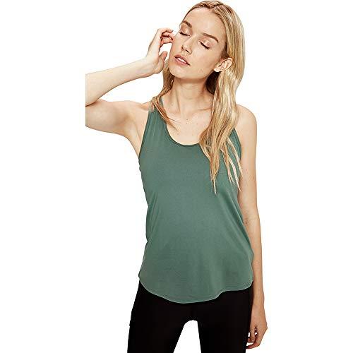 LOLË Fancy 2 Camiseta de Tirantes, Mujer, Verde (Laurel Wreath), XL