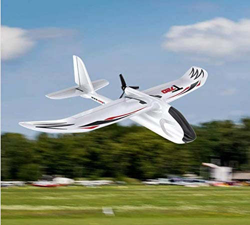 OMPHOBBY T720 RC Plane Ready To Fly 6-Axis Gyro Stabilizer RC Airplane RTF With Normal Flight Mode One-button Start Aerobatic Flight Function For Beginners RC Planes