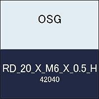 OSG 丸ダイス RD_20_X_M6_X_0.5_H 商品番号 42040