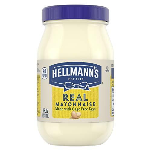 Hellmann's Mayonnaise, Real, 8 oz