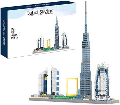 Architecture Skyline Dubai Micro Mini Building Blocks Set 2545 Pieces World Famous Architecture product image