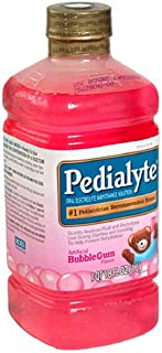 Pedialyte Oral Electrolyte Maintenance Solution, Bubble Gum, 1 qt (1.8 fl oz)