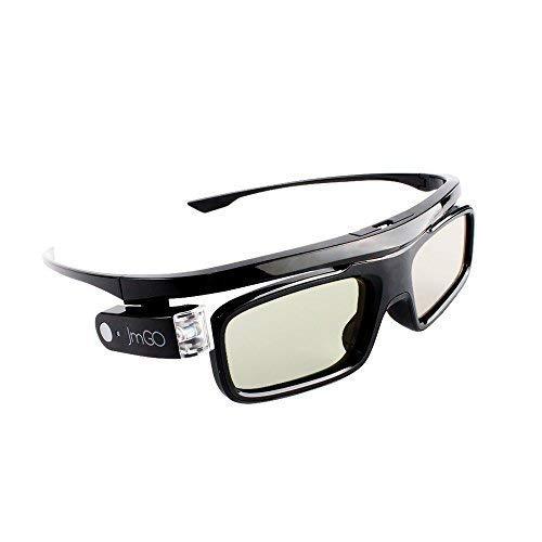 JmGO Wiederaufladbare, aktive 3D-Shutter-Brille - Unterstützt nur