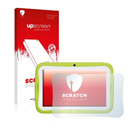 upscreen Schutzfolie kompatibel mit Blaupunkt 4Kids – Kristallklar, Kratzschutz, Anti-Fingerprint