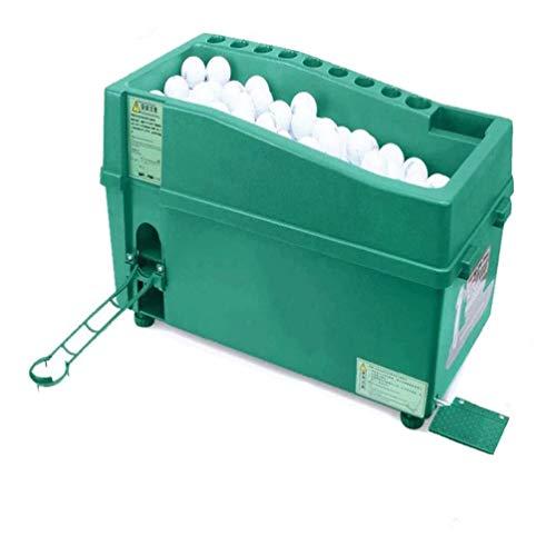 Dispensador De Pelotas De Golf Sin energía/Sin electricidad Máquina Semiautomática Multifunción Para Pelotas De Golf Adecuado Para Todo Tipo De Lugares Puede Colocar 100 Bolas Puede Ajustar La Altura