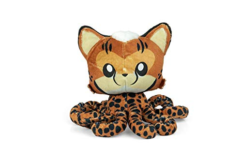 Tentacle Kitty Series Cheetah Kitty Plush Collectible | Adorable Plush Collectibles | Measures 8 Inches Tall