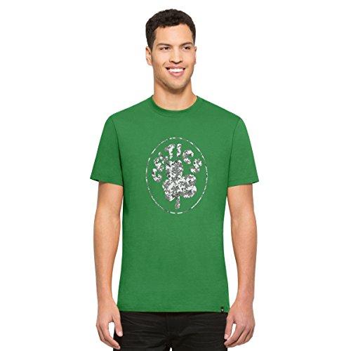 NBA Boston Celtics Men's '47 Crosstown Flanker Tee, Kelly-Logo, Medium
