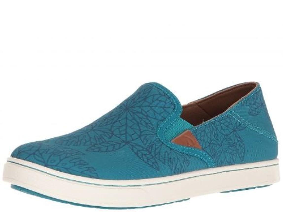 美しい格納不十分なOlukai(オルカイ) レディース 女性用 シューズ 靴 スニーカー 運動靴 Pehuea POW! WOW! - Teal/Legion Blue [並行輸入品]