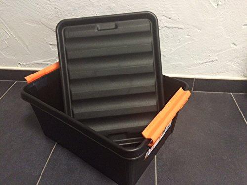 Werkzeugbox Werkstattbox Autobox Robust 40X30X19 CM (14Liter) sehr stabil