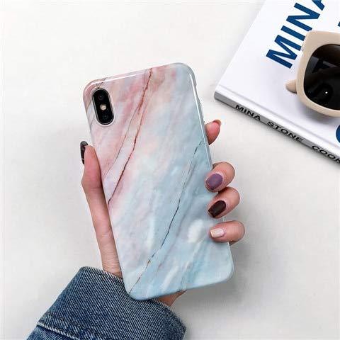 FZKDJWJ Funda Silicona Suave mármol Samsung Galaxy