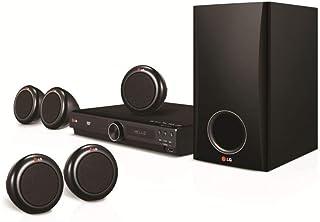 نظام مسرح منزلي دي في دي من ال جي 5.1 قناة طراز DH3140S - لون أسود
