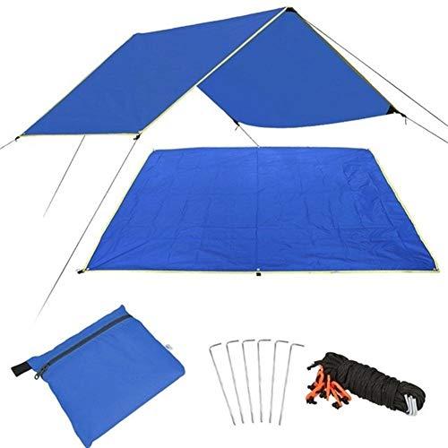 Schattensegel Pergola Abdeckung Canopy Shade Baldachin Picknick Im Freien Praktische Picknick-Matte Reise Durable Multifunktions-Zelt Cloth Sonnenschutztuch. ( Color : Royal blue , Size : 150x220cm )