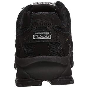 Skechers Sport Men's Vigor 2.0 Trait Memory Foam Sneaker, Black, 10.5 M US