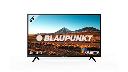 "Televisor Blaupunkt BS43U3012OEB - Televisor Smart TV LED 43"", 4K Ultra HD UHD, HDR10 + HLG, Color Negro"