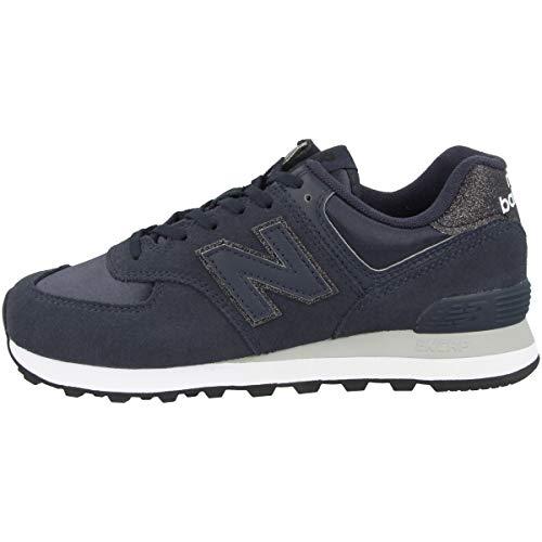 New Balance Zapatillas para Mujer WL574FA2_37, Azul Marino, EU