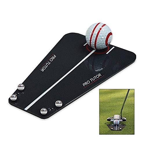 Yunn Golf Training Aid Golf Putting Mirror Training Alignment Golf Alignment Tools Golf Training Accessories Right-Handed Golfers