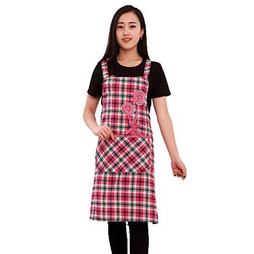 SACYSAC Apron, vest-type schort, katoen, linnen, Home, schort, katoen, H, riem, keuken, antifouling