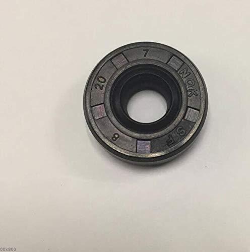 JAP768 2pcs Máquina de Pan Sorbete Máquina Reparación Piezas de reparación de Aceite Anillo de Sellado TC Diámetro Interno 8 Diámetro Exterior 20 Espesor 7 Ajuste portátil for LG