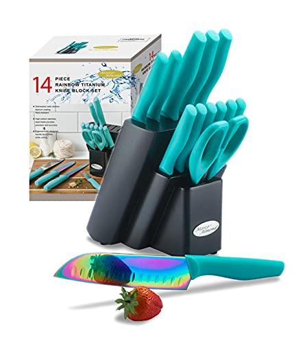 DISHWASHER SAFE Rainbow Titanium...