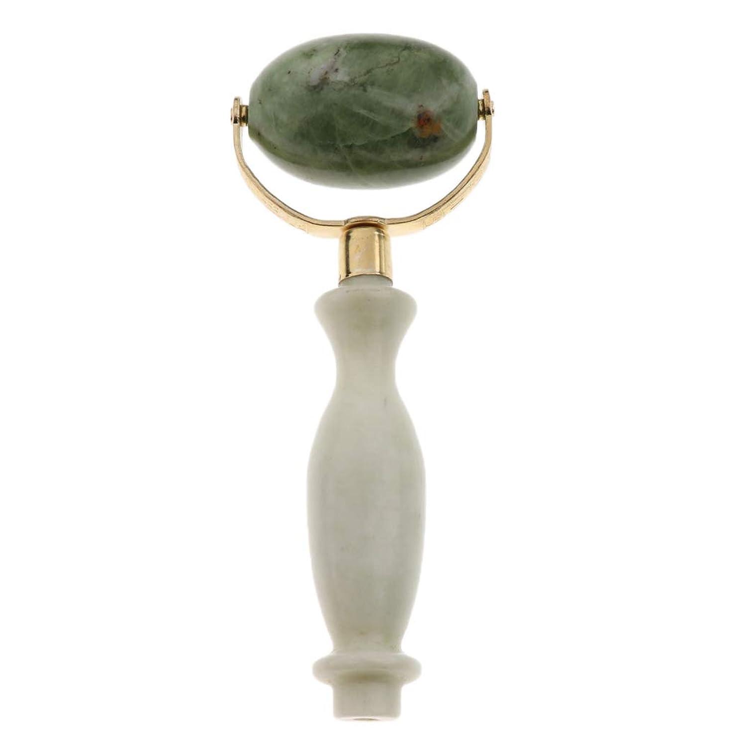 マイナスすることになっている湿原FLAMEER 美容ローラー 美顔ローラー  フェイシャル マッサージ 美顔器 美肌 天然 翡翠石 2種選ぶ 健康 - スタイル2