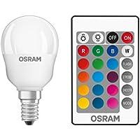 Osram 045712 Bombilla LED E14, 4.5 W, Blanco