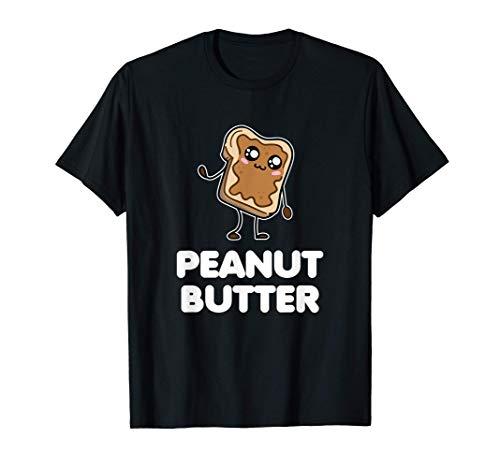 Disfraz de mantequilla de cacahuete. Parejas divertidas a Camiseta