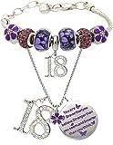18th Birthday, 18 Year Old Birthday, 18th Birthday Girl, 18th Birthday Bracelet, 18th Birthday Necklace, 18 Year Old Daughter Birthday Gift Idea, 18th Birthday Gift