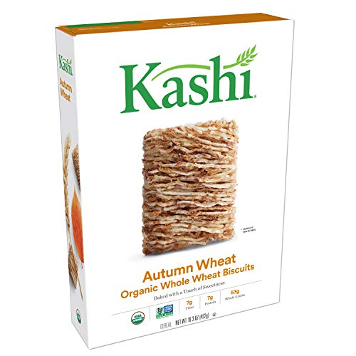Kashi, Breakfast Cereal, Autumn Wheat, Organic, Vegan, 16.3oz Box