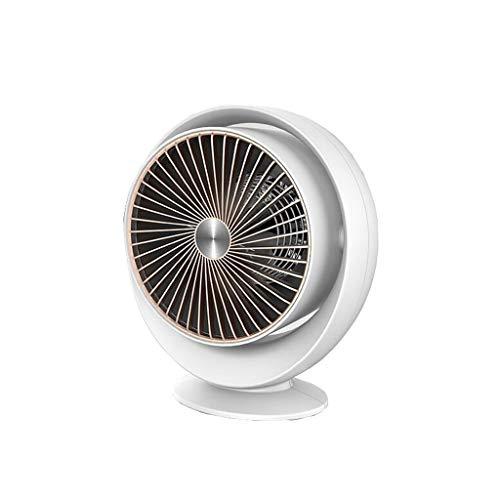 ZXCVBN para hogar Oficina Calentador de cerámica portátil con termostato Ajustable Perfecto for la Oficina Inicio Inicio O (Color : Blanco)