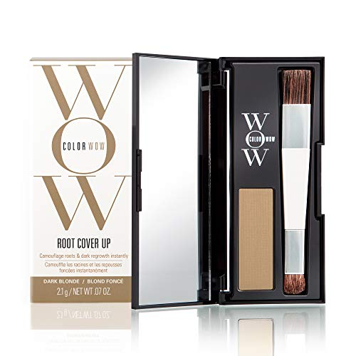 COLOR WOW Root Cover Up, All Day Hair Color Touch-Up Powder, Dark Blonde