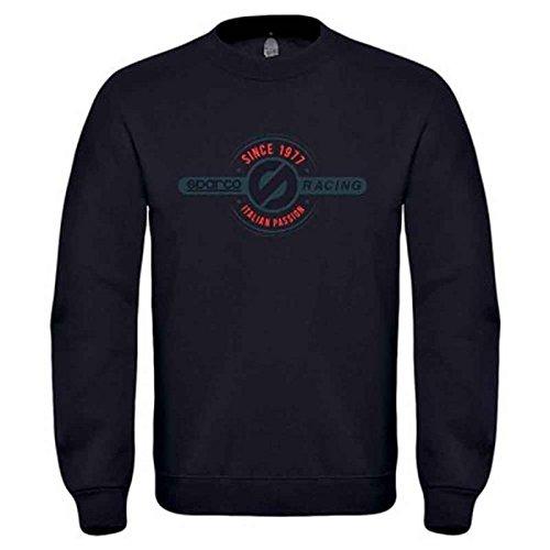 Sparco 01225NR4XL Sweatshirt Tg. Schwarz Xl