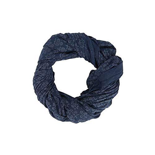 IB Laursen Denmark Halstuch Blumenmuster blau