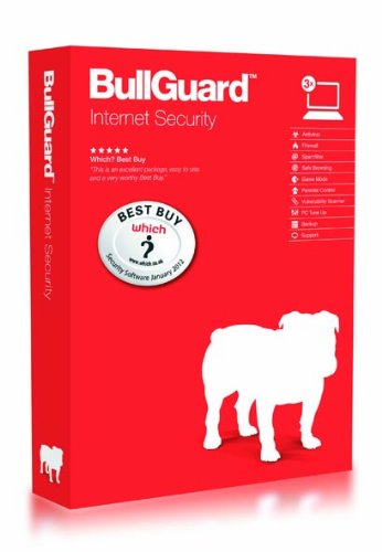 BullGuard Internet Security 12, 1 year subscription, 3 Users [import anglais]