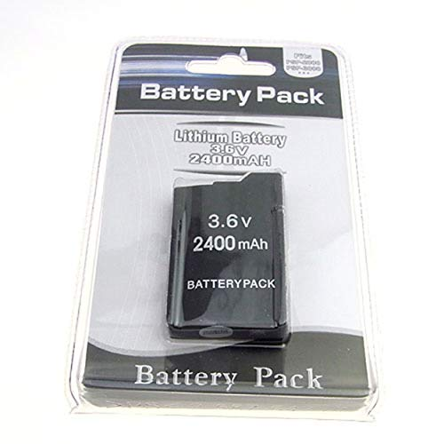 Losenlli 3.6V 2400mAh batería para Sony PSP2000 PSP3000 PSP 2000 PSP 3000 Gamepad Batería para Playstation Controlador portátil