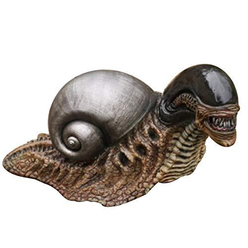 BOLANA Alien Snail Statue Figur Statuen Modell Puppe Sammlung Geburtstagsgeschenke Long Garden Home Decoration