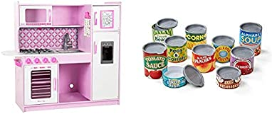 Melissa & Doug Chef's Kitchen – Cupcake & Let's Play House! Grocery Cans