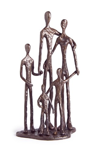 Your husband will love this bronze family sculpture perfect bronze 8th anniversary gift ideas for him