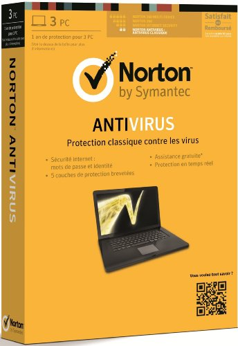 Norton antivirus 2013 (3 poste, 1 an)