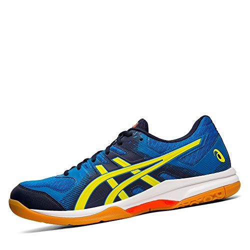 ASICS Herren Gel-Rocket 9 Volleyballschuhe, Blau (Blue 1071A030-400), 43.5 EU