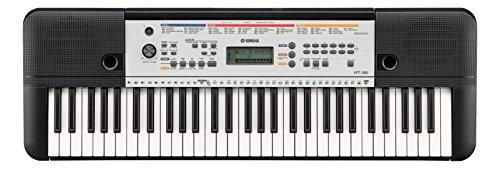 Yamaha YPT-260 - Tastiera elettronica portatile per principianti, versatile, 61 tasti, colore nero
