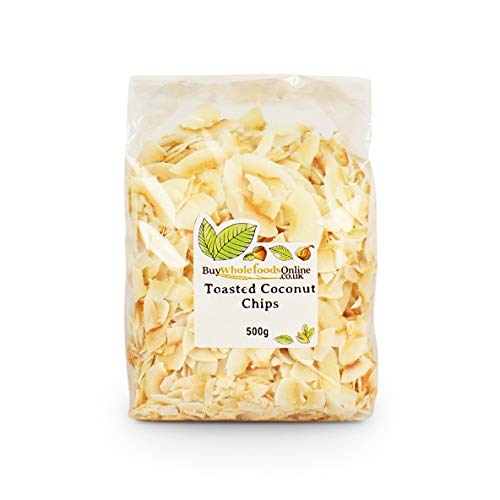 Coconut Chips, Toasted 500G by buy Whole Foods online Ltd. by buy Whole Foods online Ltd.