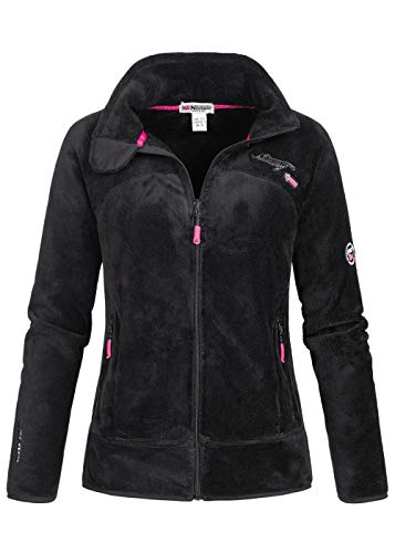 Geographical Norway Damen Fleece Jacke UPALINE SHWARZ L
