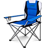 Best Fishing Chairs - Camabel Folding Camping Chairs Outdoor Lawn Chair Padded Review