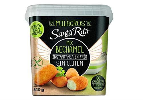 Santa Rita Mix Bechamel Sin Gluten Instan En Frio, 1 x 240 gr