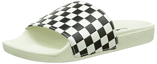 Vans Slide-on, Damen Pantoletten, Weiß (checkerboard/white/black), 34.5 EU