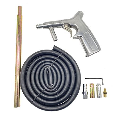 SHUNJIE Sandblaster Gun Kit Air Siphon Feed Sandblasting Gun with Tips Nozzle Abrasive Sand Blaster Gun