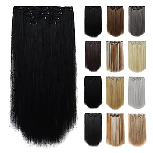 Hair Extensions,HSPCYGG Hairpieces For Hair Black Clip in Hair...